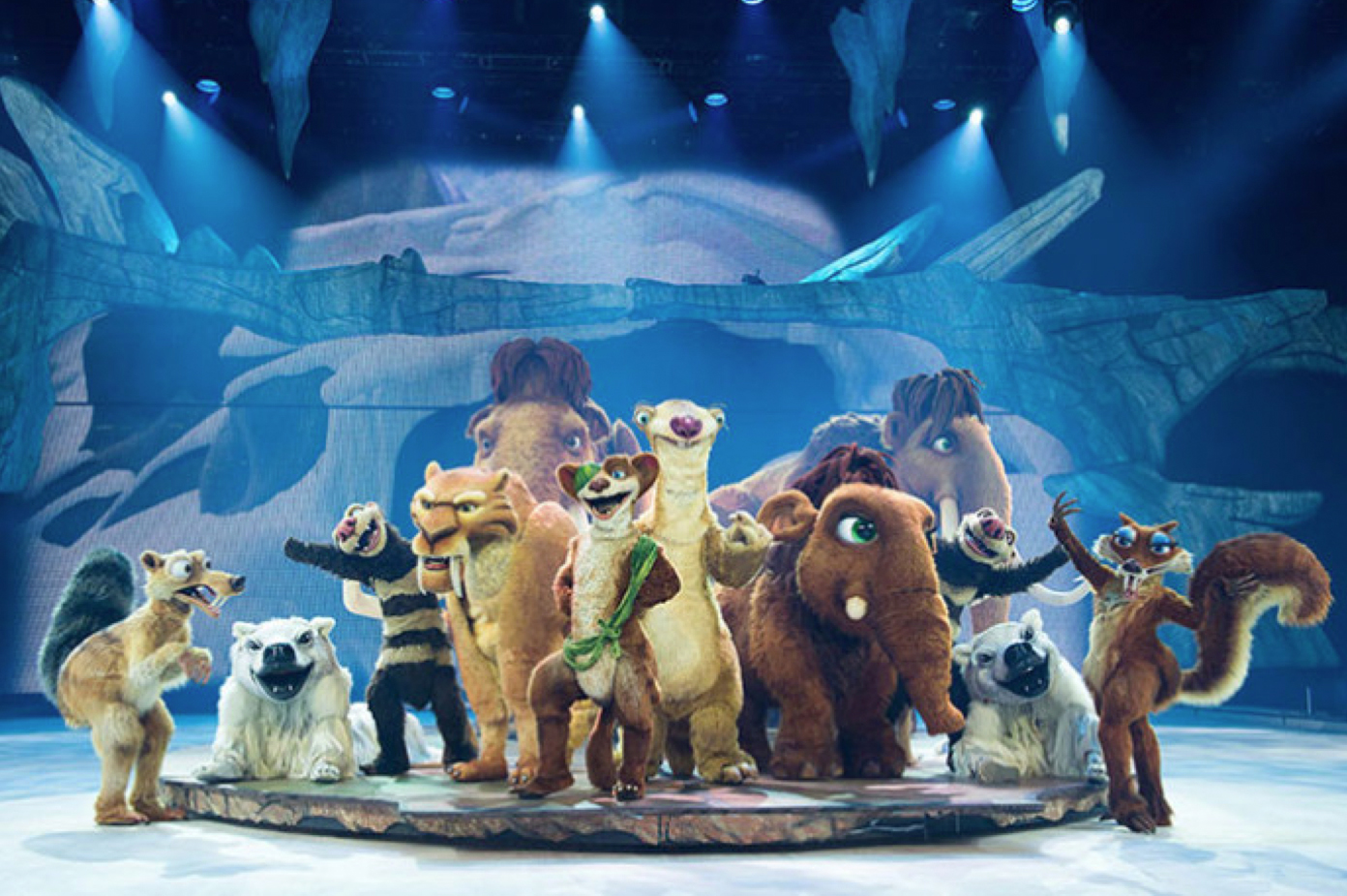 ICE AGE™ Characters - Twentieth Century Fox Film Corporation. All rights reserved.
